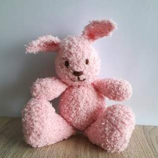 Makerist - Pink Little Cuddle Bunny - 1