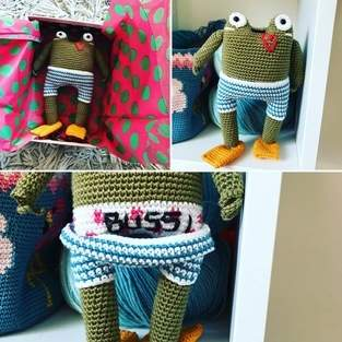 Makerist - Victor the frog - 1