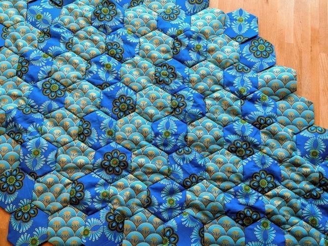 Makerist - English Paper Piecing - Patchwork mit der Hand - Patchwork-Projekte - 1