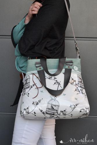 Makerist - Tasche Frühlingsliebe von Unikati  - Nähprojekte - 2