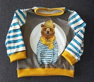 Mini Harry aus Panel Jersey