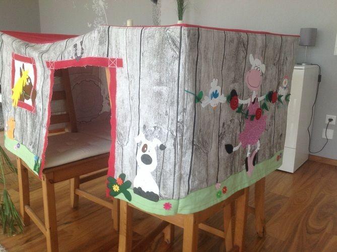 Makerist - Und noch eine Tischhusse Spielhusse - DIY-Projekte - 1