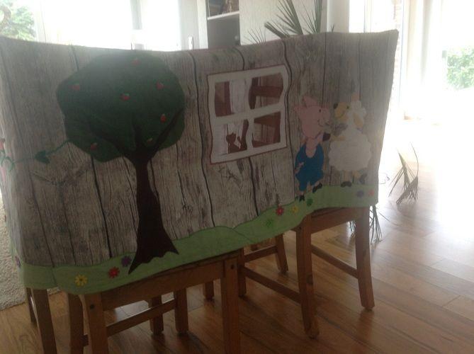 Makerist - Und noch eine Tischhusse Spielhusse - DIY-Projekte - 2