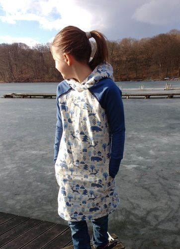 Makerist - Teen Hipster Dress Sweat-Kleid mit Kuschelkapuze - Nähprojekte - 2