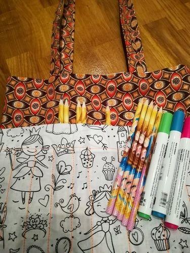 Makerist - Sac à coloriage pour enfant  - Créations de couture - 3