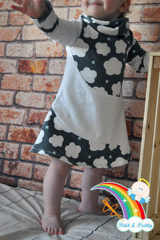 Phia's Cool Curved Dress aus Jersey in Gr. 74