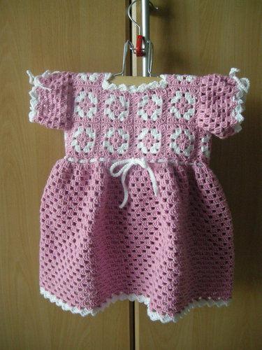 Makerist - Babykleidchen für Größe 68/74 - Häkelprojekte - 2