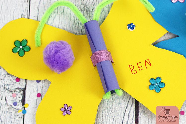 Makerist - Schmetterling-Einladung - DIY-Projekte - 3