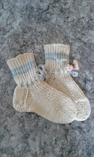 Makerist - Kindersocken - Strickprojekte - 1