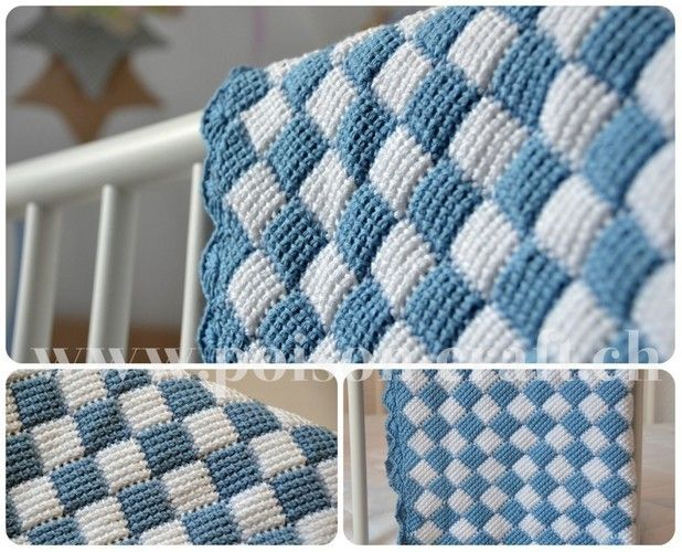 Makerist - Baby Decke - Häkelprojekte - 1