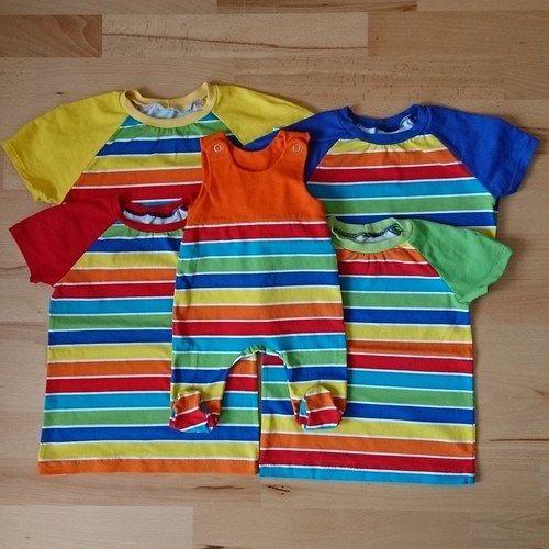 Makerist - Bunte Pilvi Shirts - Nähprojekte - 1