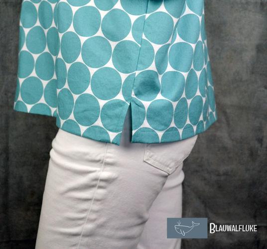 Makerist - Bluse FrauAiko von Fritzi/Schnittreif - Nähprojekte - 3