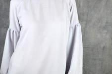 Makerist - Bluse Adelheid von Schneidernmeistern mit langen Bischofsärmeln - 1