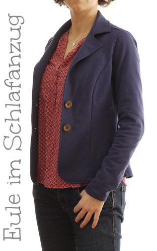 Makerist - Lady Grace Sweatblazer - Nähprojekte - 1
