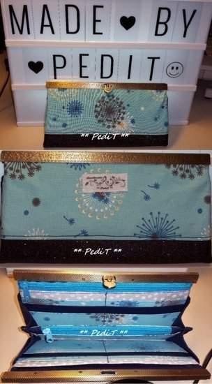 Makerist - Geldbörse - Royal - 1