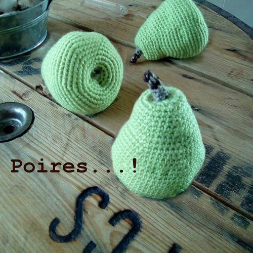 Makerist - S.A.M. a dit... poires Doyenné du Comice...! - Créations de crochet - 3