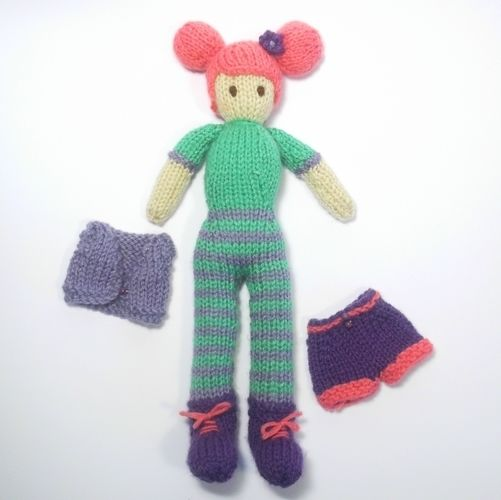 Makerist - Aimee Doll - Knitting Showcase - 2