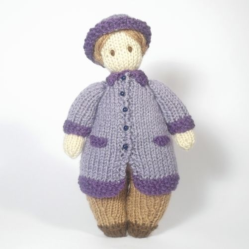 Makerist - Tilda Doll Jane - Knitting Showcase - 1