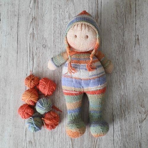Makerist - Jo-Jo Doll - Knitting Showcase - 1