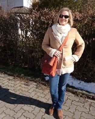Makerist - Clarice Mantel aus Wildleder-Schaffell-Imitat - 1