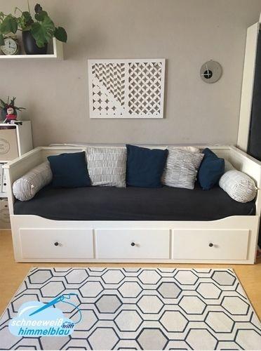 Makerist - Sofalandschaft/Kissen für das Hemnes Tagesbett - Nähprojekte - 1