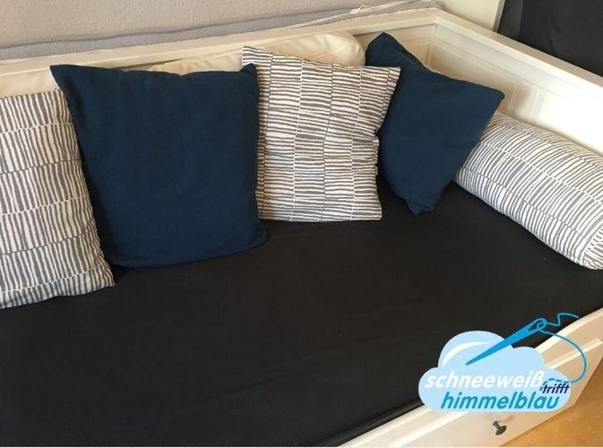 Makerist - Sofalandschaft/Kissen für das Hemnes Tagesbett - Nähprojekte - 2