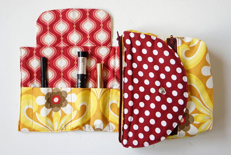 Makerist - Kosmetiktasche - Nähprojekte - 1