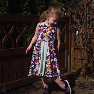 """Makerist - Sommerkleid """"Marisa"""" von MY LITTLE LADYBIRD - 1"""