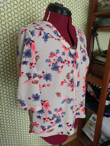 Makerist - 3 versions pour la blouse coquelicot - Créations de couture - 2