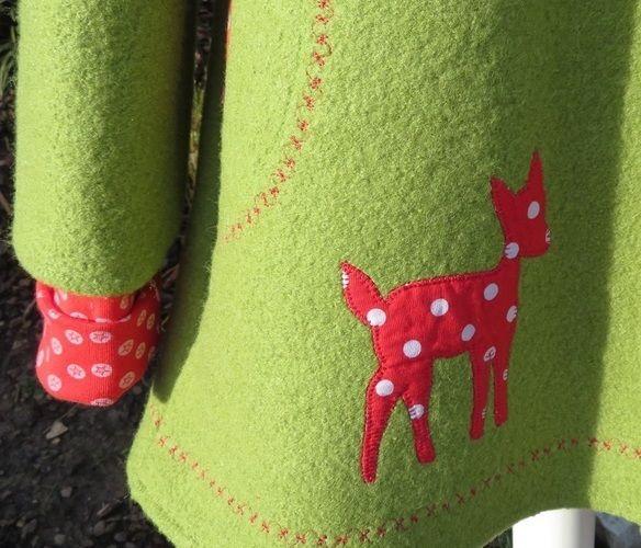 Makerist - Mantel Gretchen für mein Enkelmädchen Paulina - Nähprojekte - 2