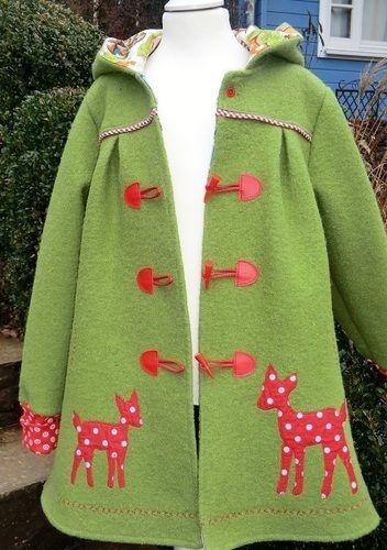 Makerist - Mantel Gretchen für mein Enkelmädchen Paulina - Nähprojekte - 3