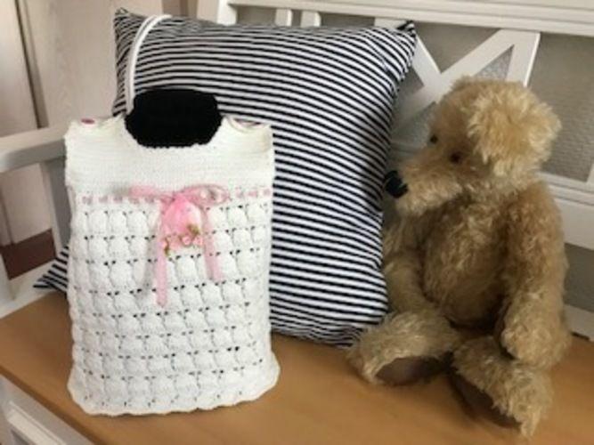 Makerist - Babykleidchen (3-6 Monate) - Häkelprojekte - 2
