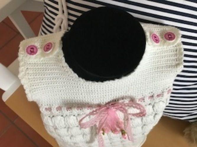 Makerist - Babykleidchen (3-6 Monate) - Häkelprojekte - 3