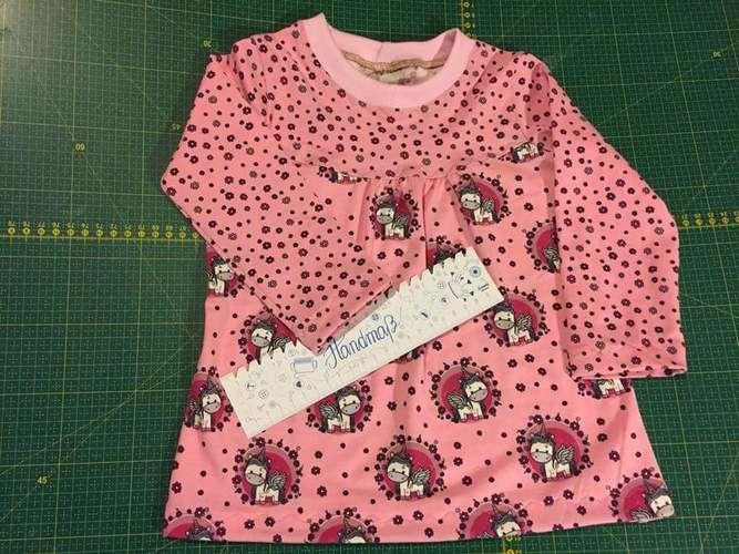 Makerist - Girly Shirt von Konfetti Patterns - Nähprojekte - 1