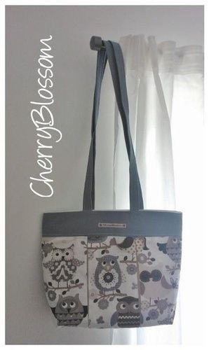 "Makerist - Handtasche ""Owl"" - Nähprojekte - 1"