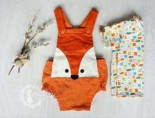 Trägerhose Hugo für unseren kleinen Babymann