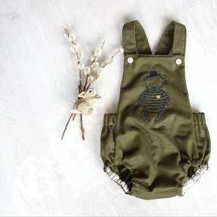 Makerist - Trägerhose Hugo für unseren kleinen Babymann - 1
