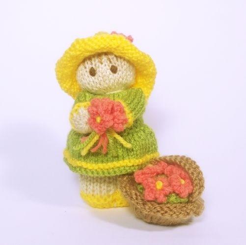 Makerist - Flower Garden Bitsy Baby Doll - Knitting Showcase - 1