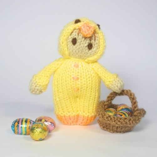 Makerist - Easter Chick Bitsy Doll - Knitting Showcase - 1
