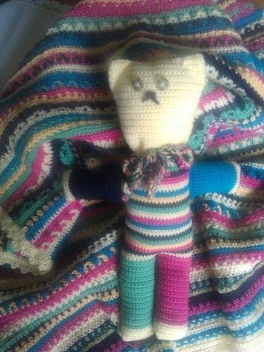 Makerist - teddy fips und decke - Häkelprojekte - 1