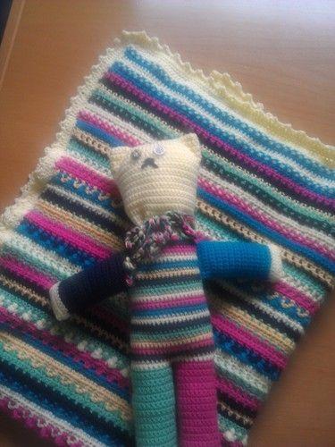 Makerist - teddy fips und decke - Häkelprojekte - 2