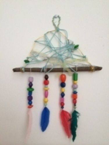 Makerist - Dreamcatcher rustikal - DIY für Kinder - 1