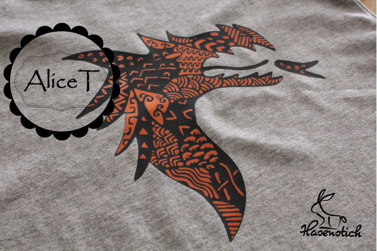 Makerist - Drachen - Textilgestaltung - 1