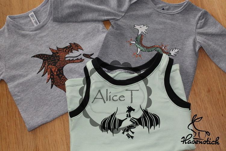 Makerist - Drachen - Textilgestaltung - 2