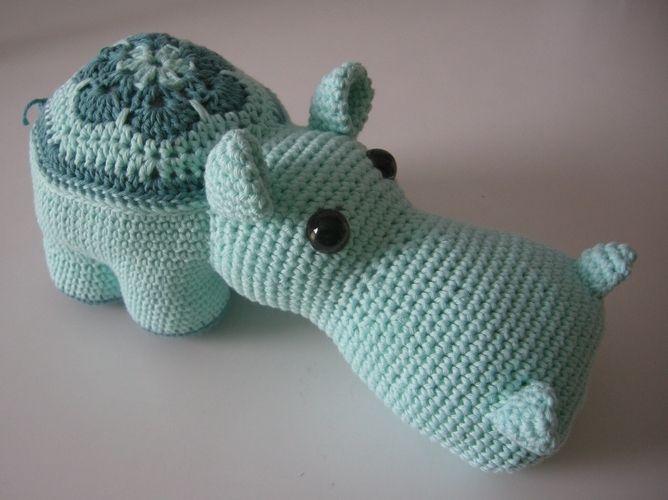 Makerist - Blumen-Hippo - Häkelprojekte - 1