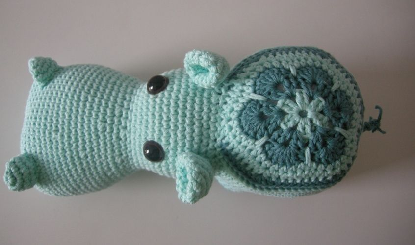 Makerist - Blumen-Hippo - Häkelprojekte - 2