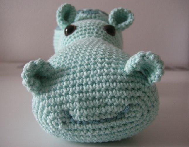 Makerist - Blumen-Hippo - Häkelprojekte - 3