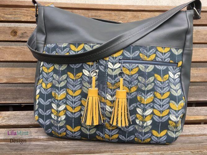 Makerist - Tasche Maha by Zaubernahnna  - Nähprojekte - 1