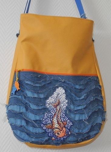 Makerist - Tasche mit Fisch - Nähprojekte - 1