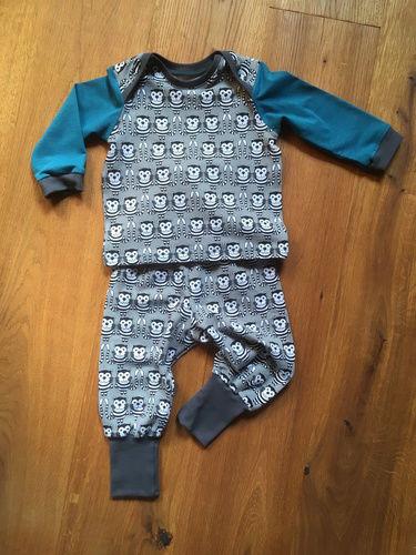 Makerist - Pumphose und Longarm-Shirt für den Neffen - Nähprojekte - 2